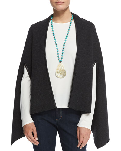 Fisher Project Snap-Front Cape