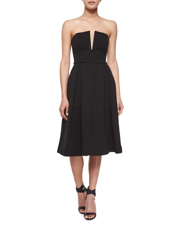 Strapless Ball Dress, Black