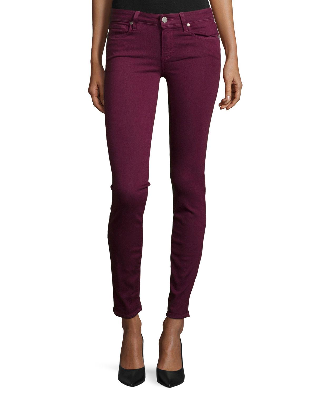 Verdugo Ultra Skinny Jeans, Sweet Wine