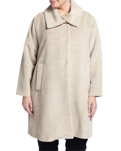 Alpaca-Blend Coat, Women's