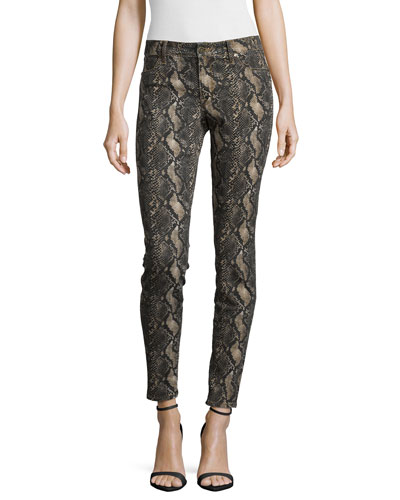 Joy Snake-Print Leggings