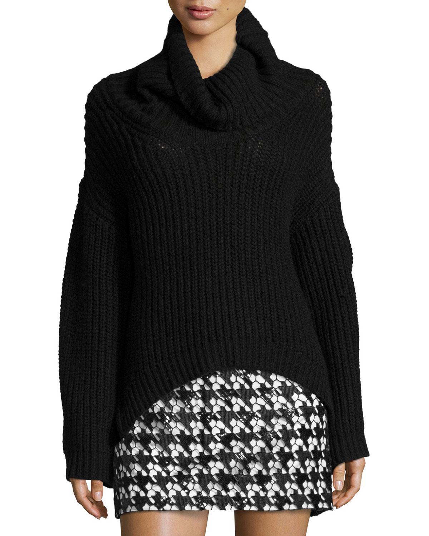 Jordy Turtleneck Sweater, Black