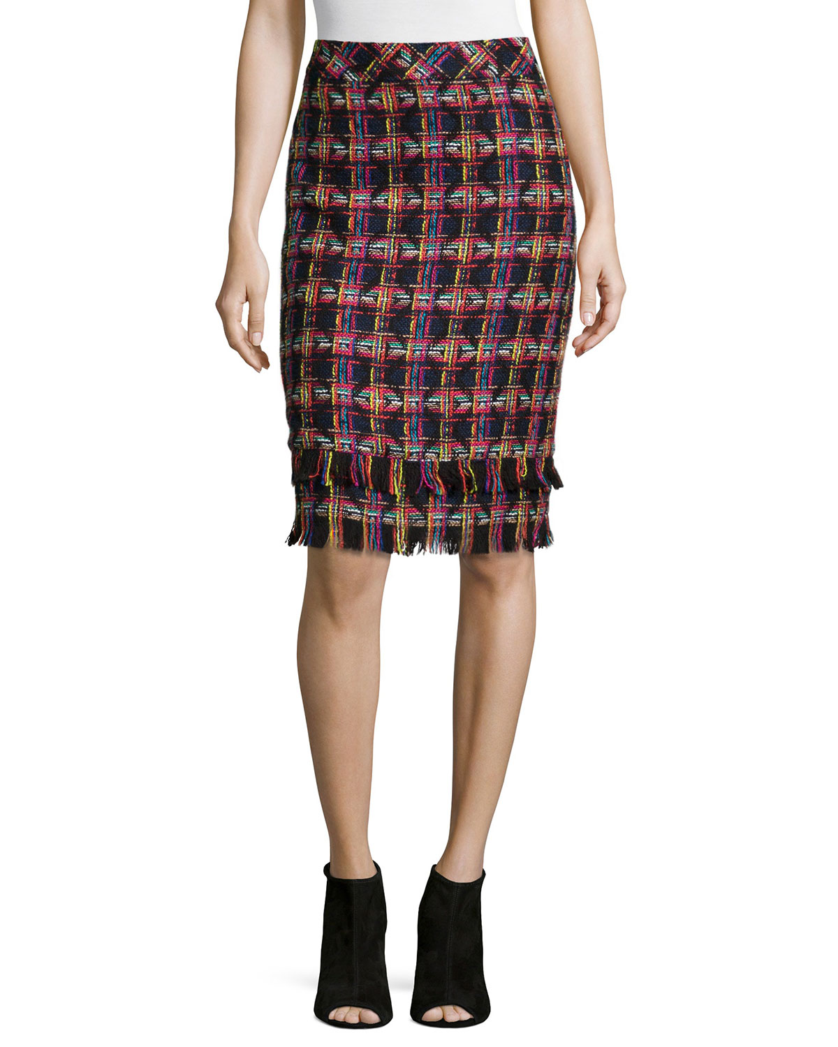 TWEED PENCIL SKIRT - JAEL