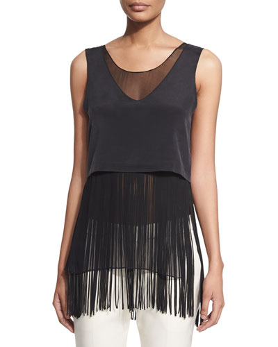 Double-Layer Fringed Tank