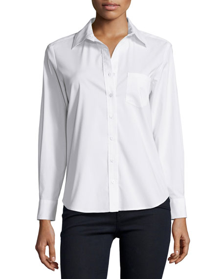 Finley Alex Button-Front Blouse