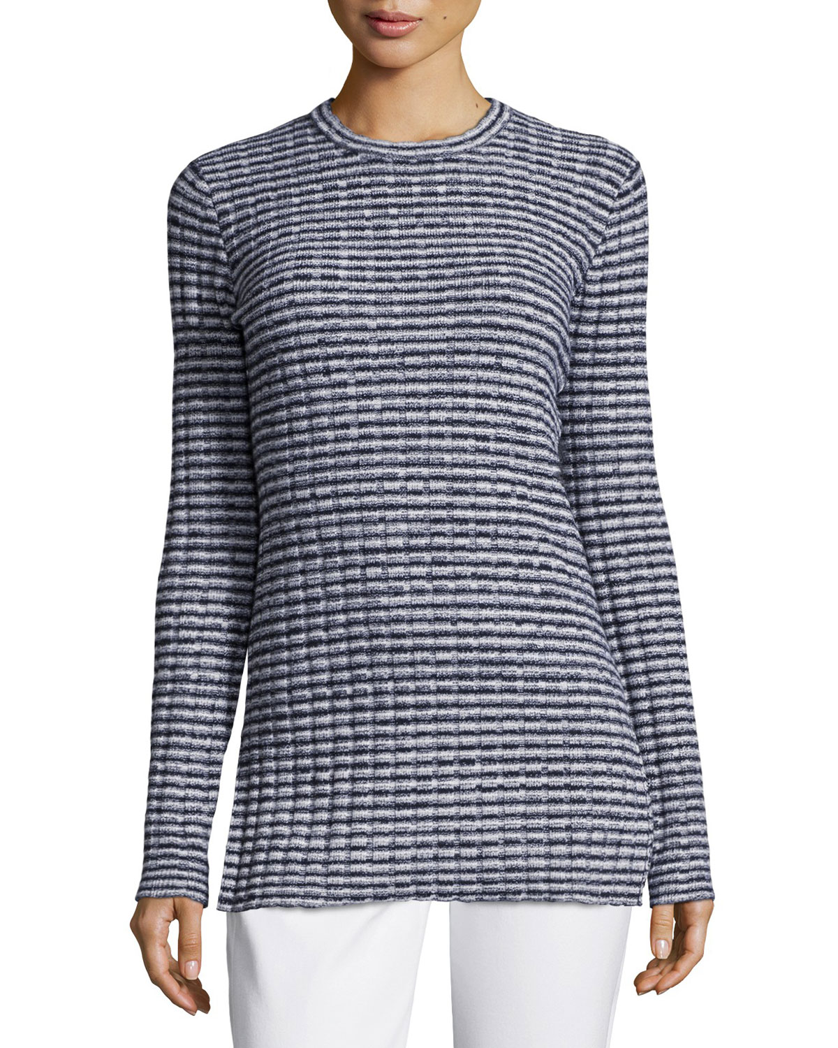Belira Evian Textured Stripe Top