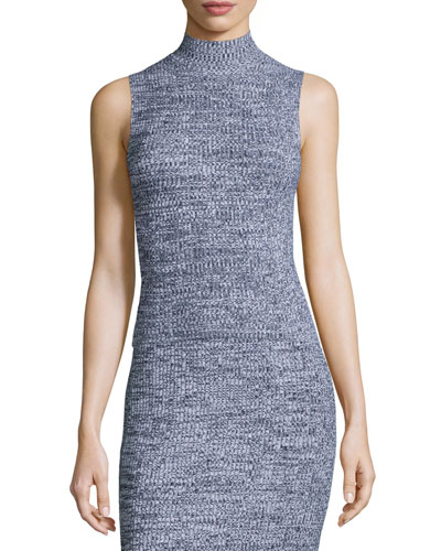 Everleen P Marled Knit Sleeveless Top