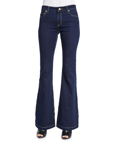 Retro Flared Jeans, Twilight Wash
