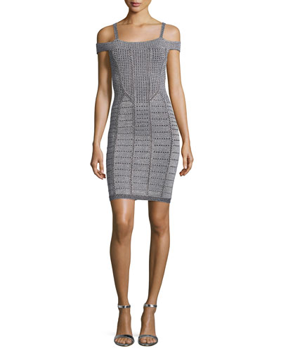 Crista Off-The-Shoulder Sheath Dress