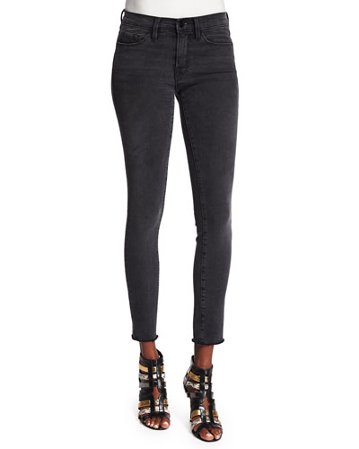 Le Skinny de Jeanne Ankle Jeans, Muddywaters Gray