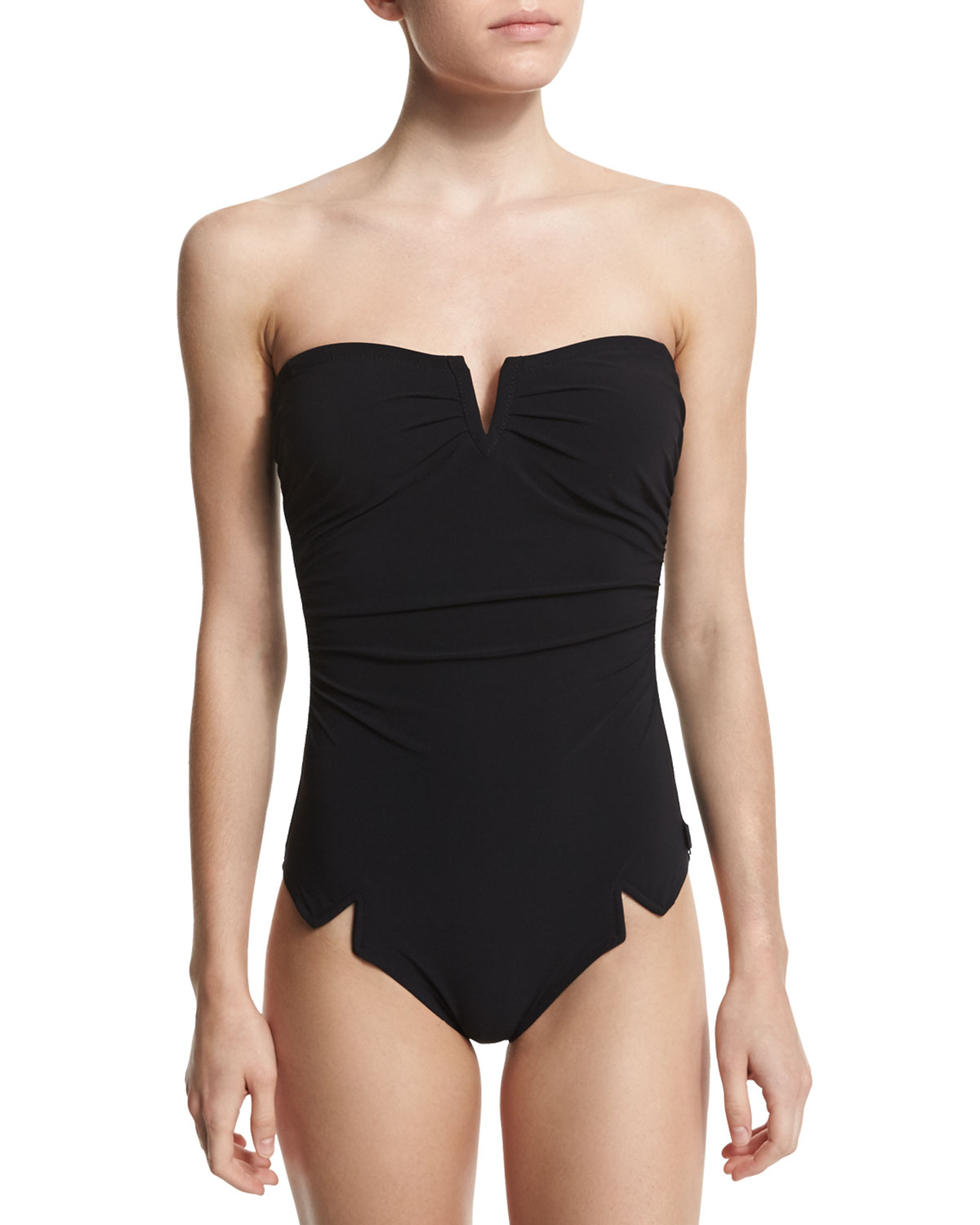 Shan SERENA SOLID ONE-PIECE SWIMSUIT