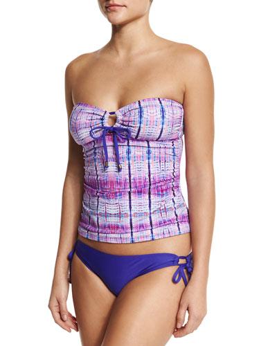 Boho Nuevo Bandini Swim Top, Purple