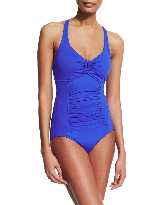 U Tube One-Piece Swimsuit