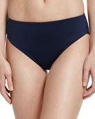 Retro Power Swim Bikini Bottom, Indigo
