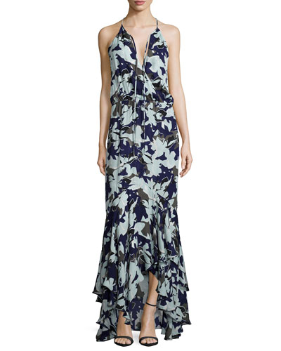 Francesca Sleeveless Maxi Dress, Belize