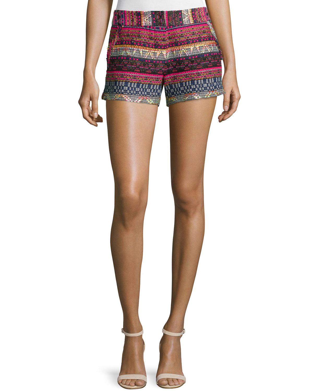 Short Tweed Shorts