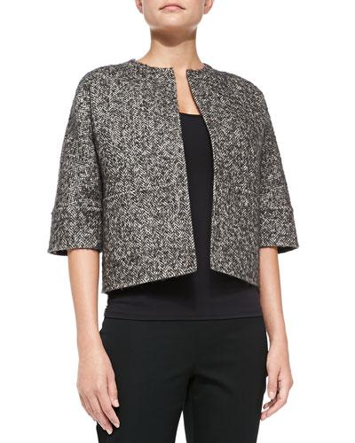 Herringbone Reversible Jacket