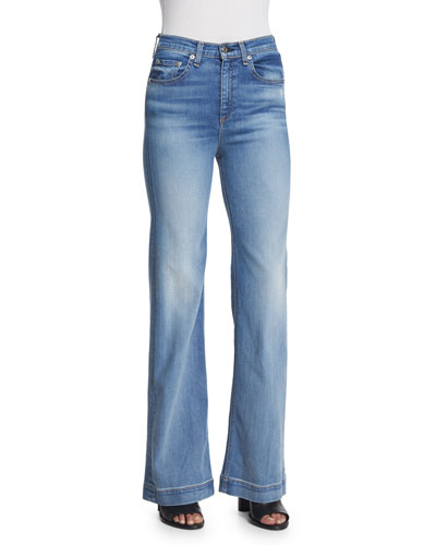 Justine Wide-Leg Jeans, Arsenal