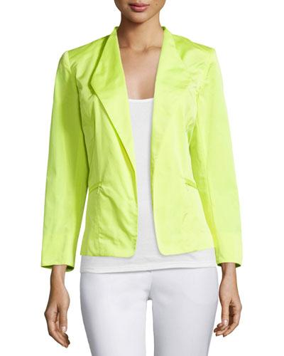 Coraline Open-Front Jacket, Solstice