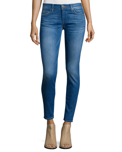 Casey Super-Skinny Ankle Jeans, Blue