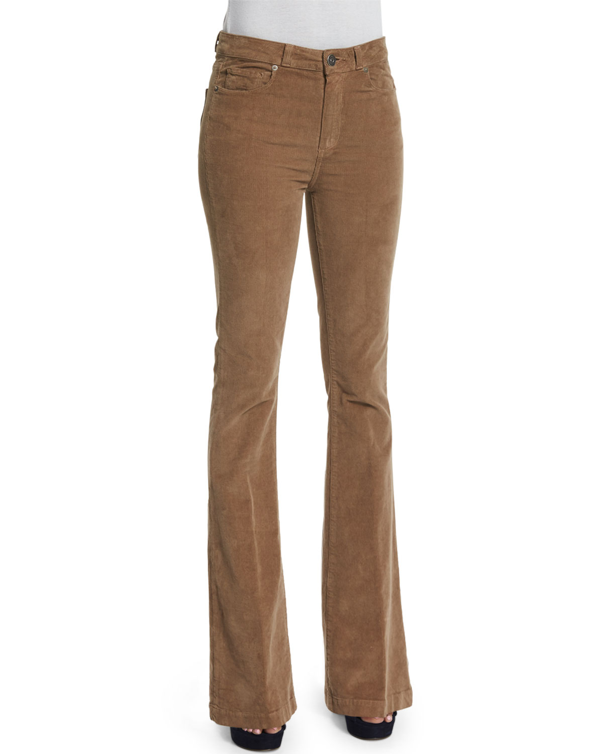 Bell Canyon High-Waist Pants, Tan