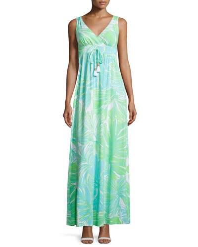Isla Printed Maxi Dress