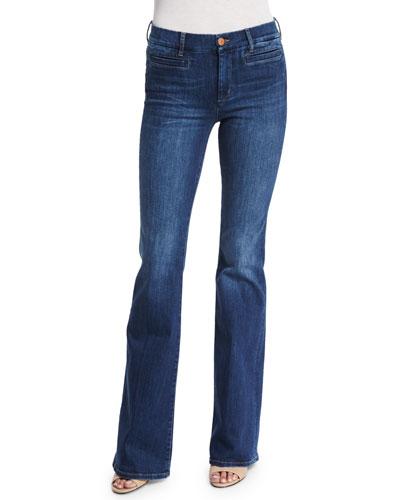 Marrakech Flare-Leg Jeans, Clarice
