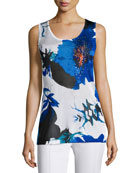 Berek Lapis of Luxury Floral Tank
