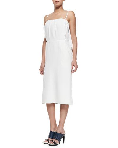 Slip Dress W/ Split Blouson Back