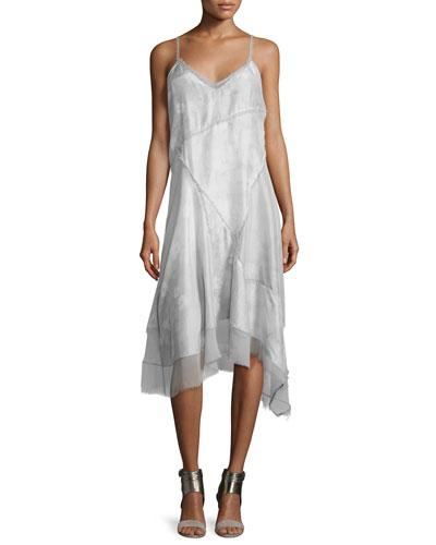 Shirley Sleeveless Handkerchief Dress