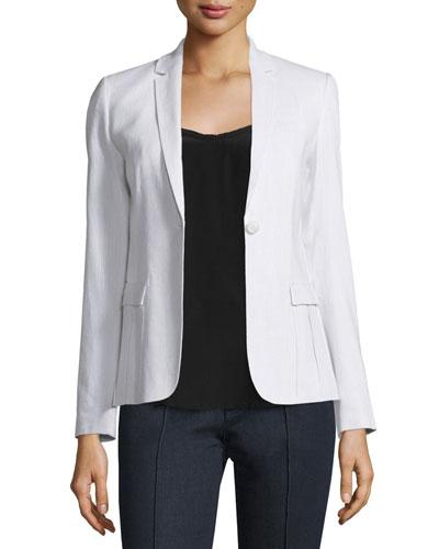 Tova One-Button Jacket