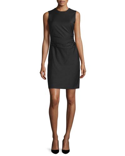 Jorianna W. Continuous Sheath Dress, Black