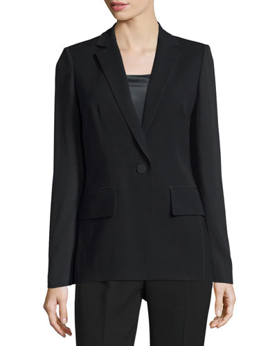 Lorelle One-Button Jacket