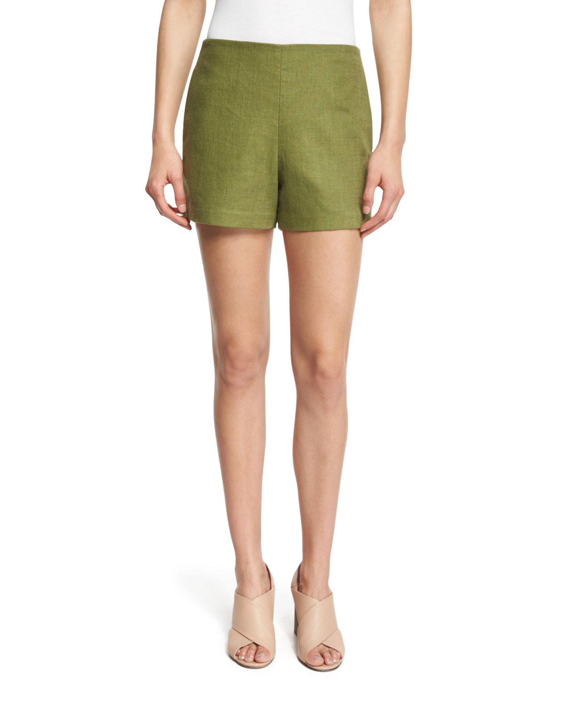 Linen Burlap Shorts, Hills