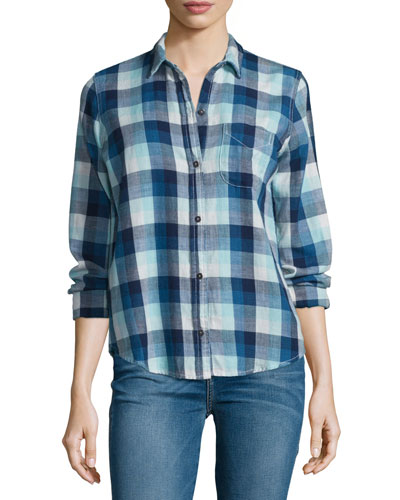 The Slim Boy Shirt, Billie Plaid