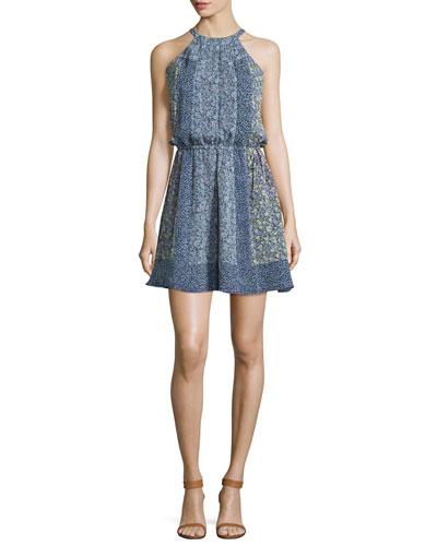 Makana C Floral-Print Dress