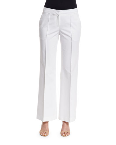 Kenmare Flare-Leg Pants, Cloud
