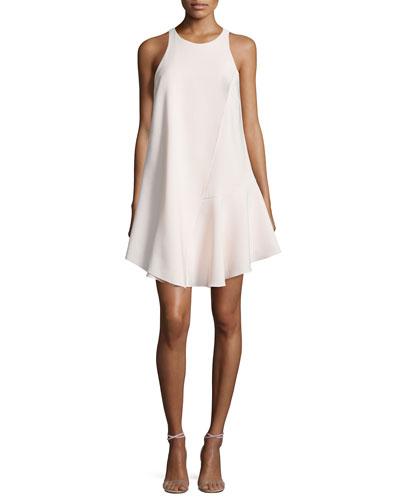 Sleeveless Flowy Cocktail Dress