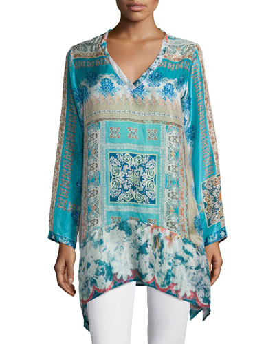 Chapman Long-Sleeve Printed Tunic