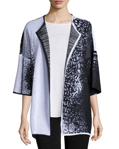 Starry Night 3/4-Sleeve Jacket