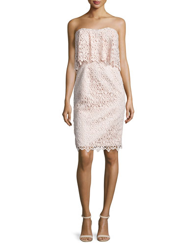 Lace Cocktail Dress | Neiman Marcus