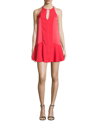 Ronan Sleeveless Mini Dress, Spice