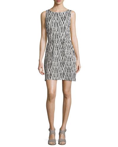 Madia Printed Sleeveless Dress
