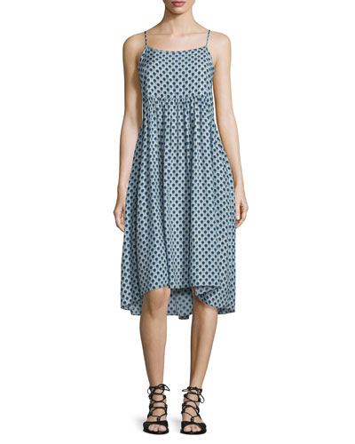 The Tea Time Dot-Print Dress, Weeping Dot