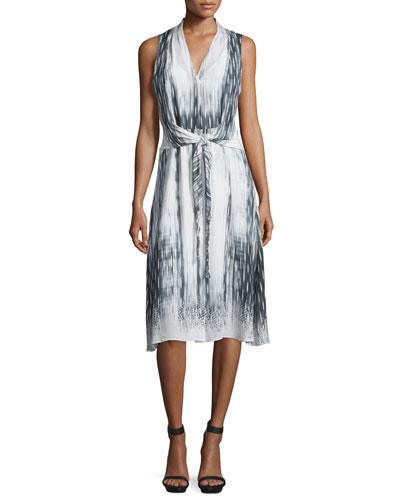 Josie Sleeveless A-line Dress