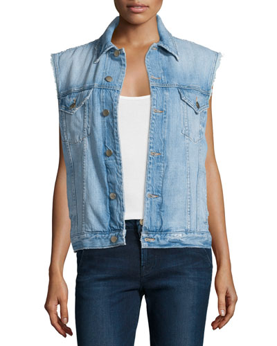 Le Original Denim Vest, Butler