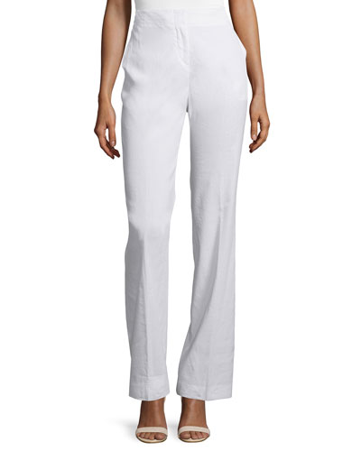 Alldrew Crunch High-Waist Pants