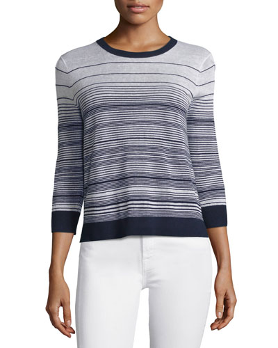 Rainee P Prosecco Multi-Striped Sweater