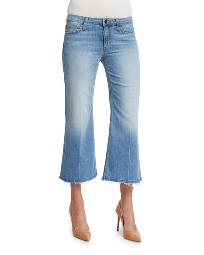The Gaucho Mid-Rise Cropped Jeans, Jan
