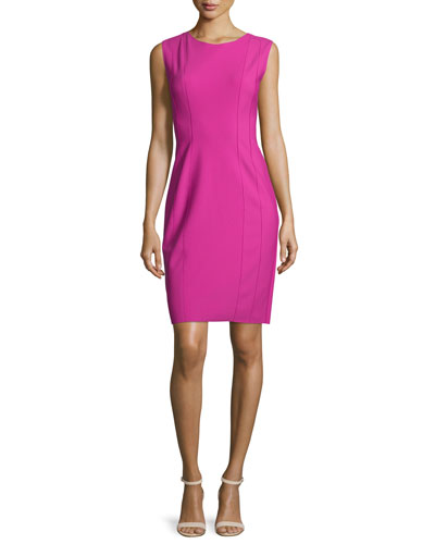 Marley Sleeveless Sheath Dress, Lotus